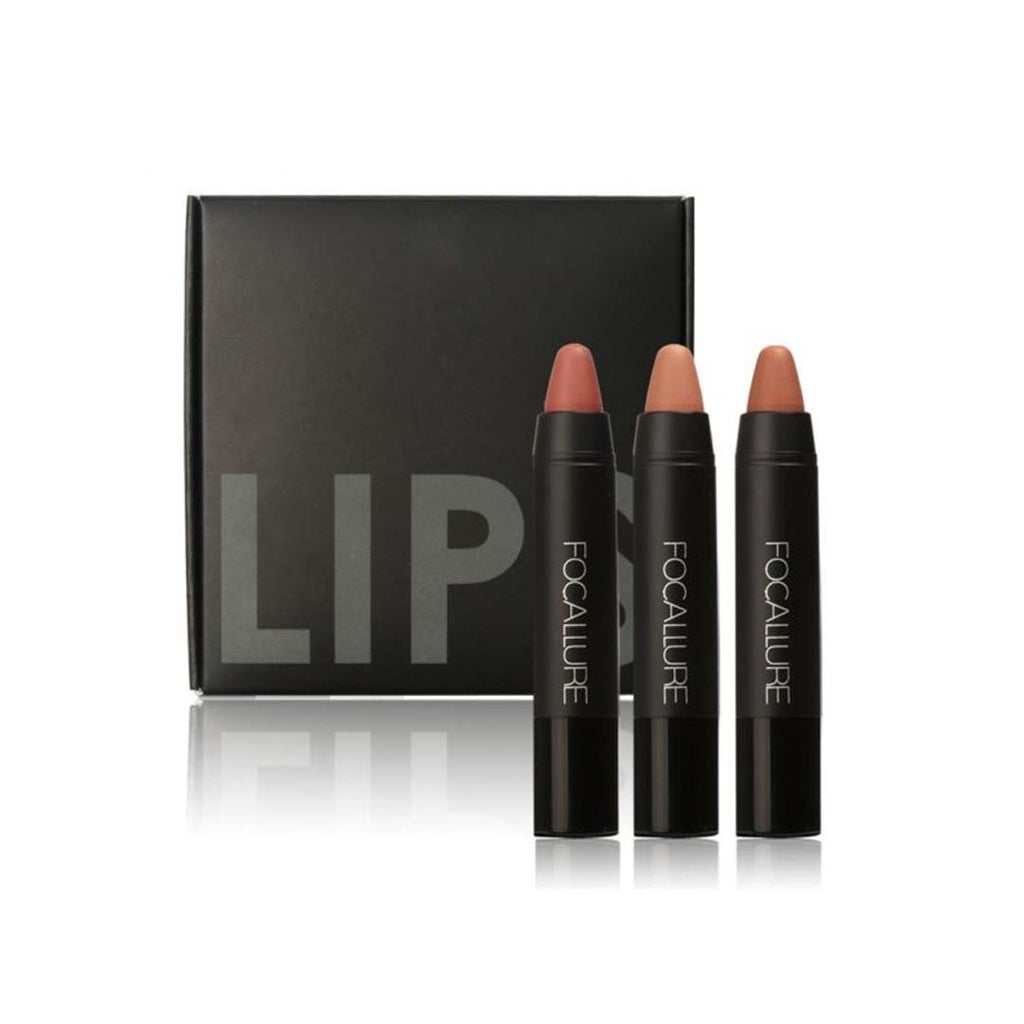 FOCALLURE - Matte Lips Crayon - Kit 2