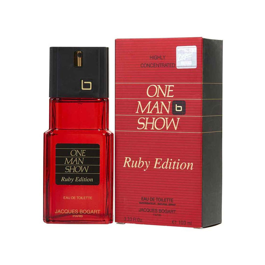 One Man Show Ruby Edition EDT Spray - 100ml - BOGART
