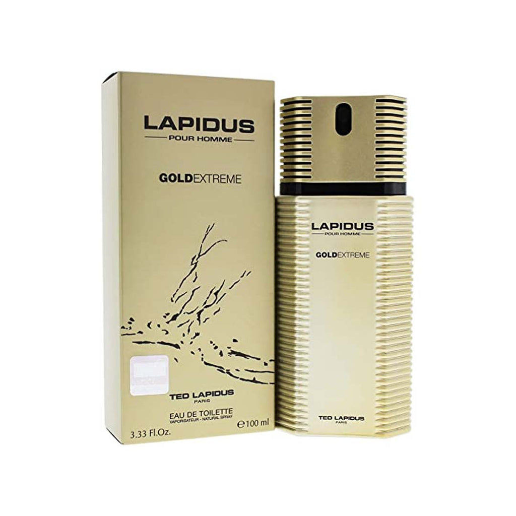 Ted Lapidus Homme Gold Extreme EDT Spray - 100ml - LAPIDUS