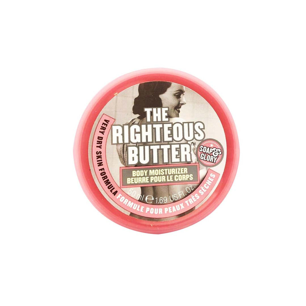 SOAP&GLORY - The Righteous Butter™ Body Butter - 50ml / 1.69 Fl. Oz.