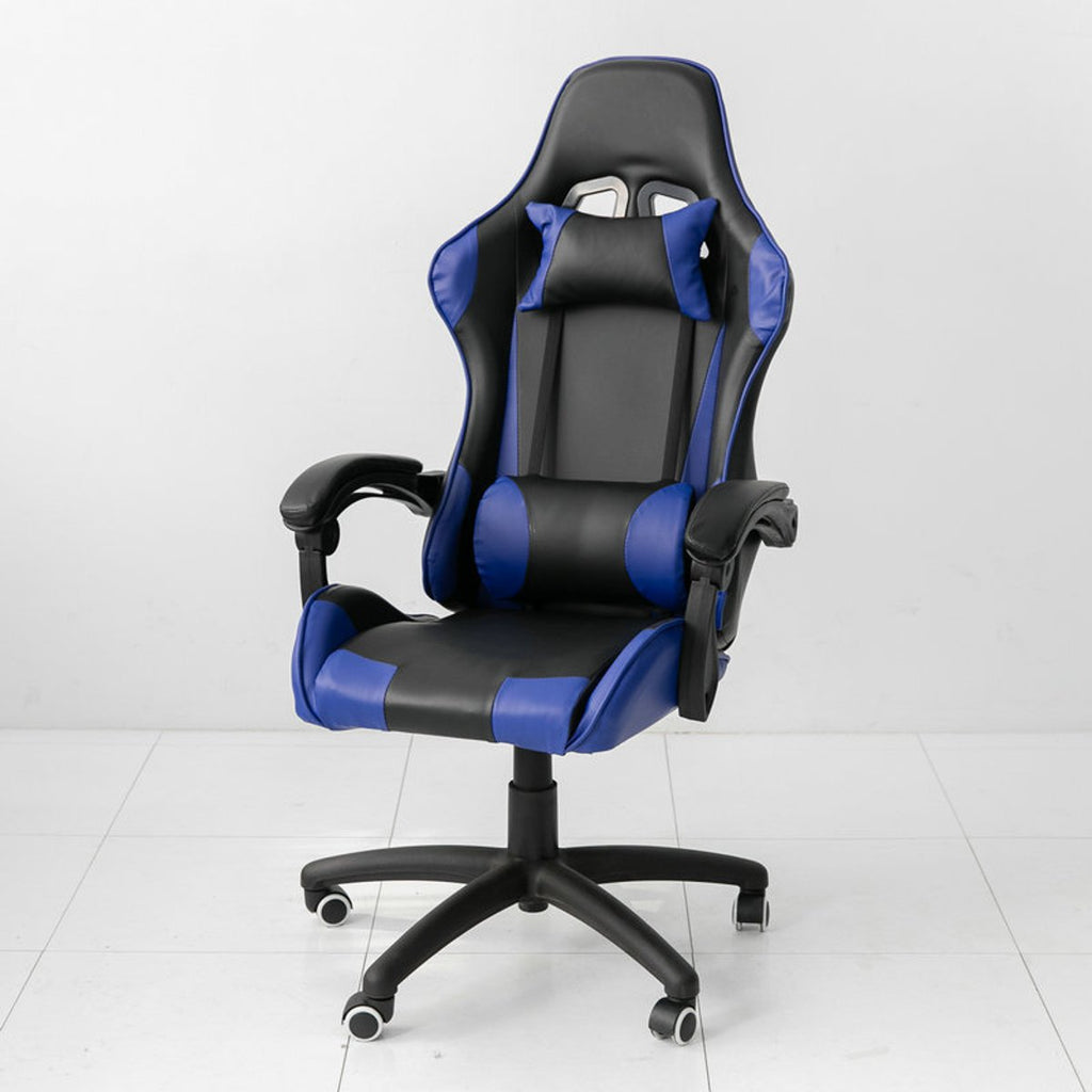 Ergonomic High Back Racing Style Reclining Office Chair Adjustable Rotating Lift Chair PU Leather Gaming Chair Laptop Desk Chair