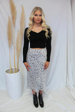 Load image into Gallery viewer, Domino Maxi Skirt