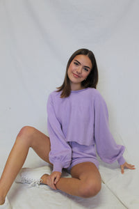 Knit Short Lilac
