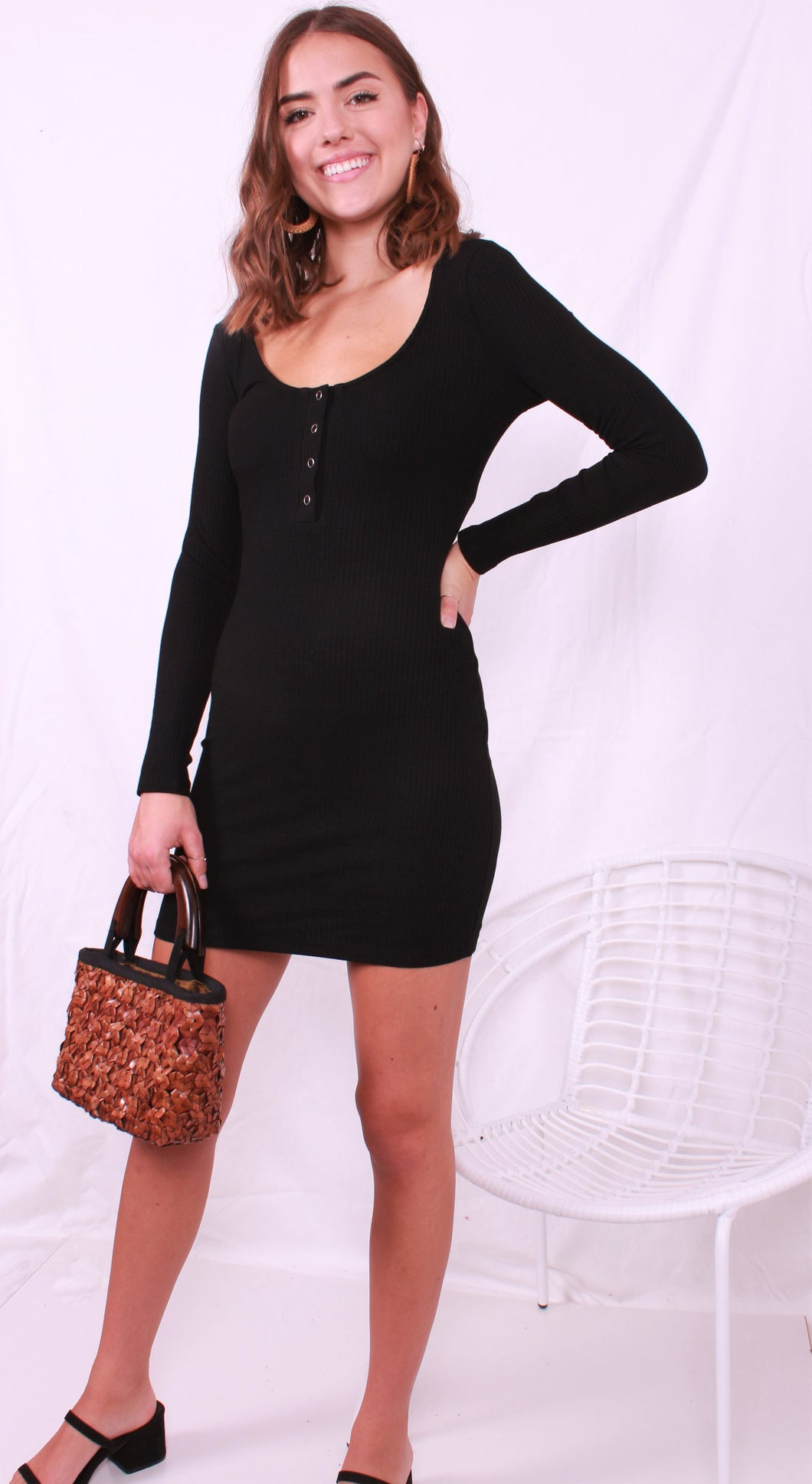 Tabatha Dress Black