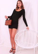 Load image into Gallery viewer, Tabatha Dress Black