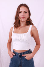 Load image into Gallery viewer, Billie Basic Top White