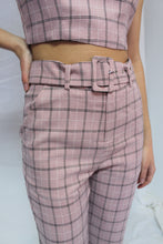 Load image into Gallery viewer, Alesha Check Pant