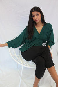 Ruby Batwing Top