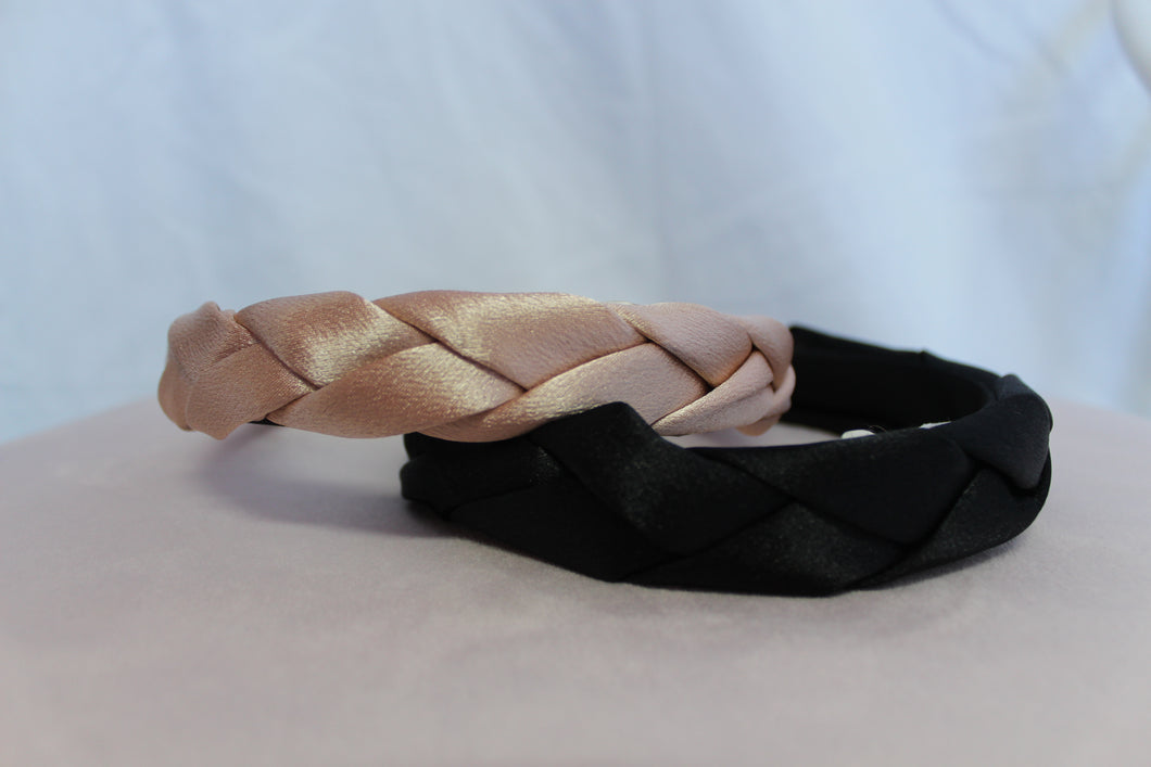 Satin Plait Headband