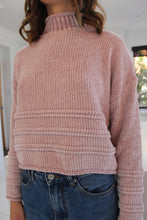 Load image into Gallery viewer, Lounging Round Knit Blush