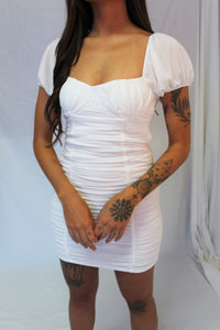 Cynthia Mesh Dress