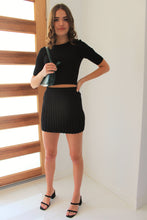 Load image into Gallery viewer, Bella Skirt Black