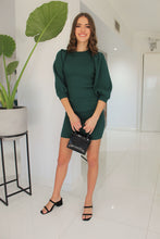 Load image into Gallery viewer, Holly Knit Dress Green
