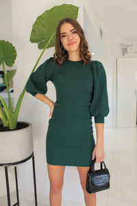 Holly Knit Dress Green