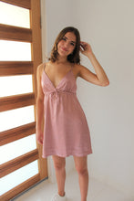 Load image into Gallery viewer, Luxe Satin Dress Pink