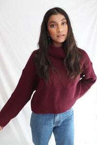 Jasmine Roll Neck Knit