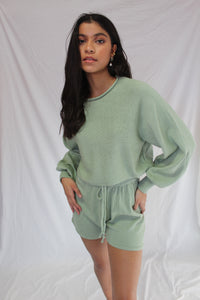 Knit Short Green