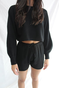 Sweat Knit Black