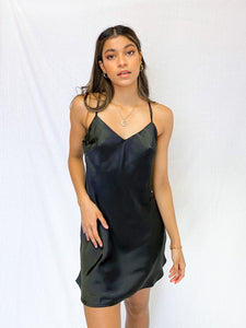 Jackie Satin Dress