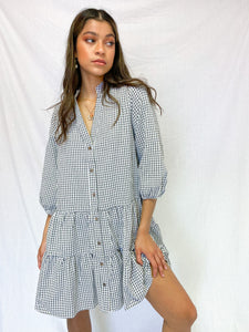 Gingham Baby Doll Dress