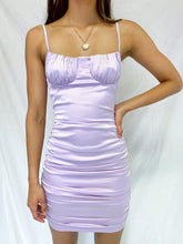 Load image into Gallery viewer, Valerie Satin Dress