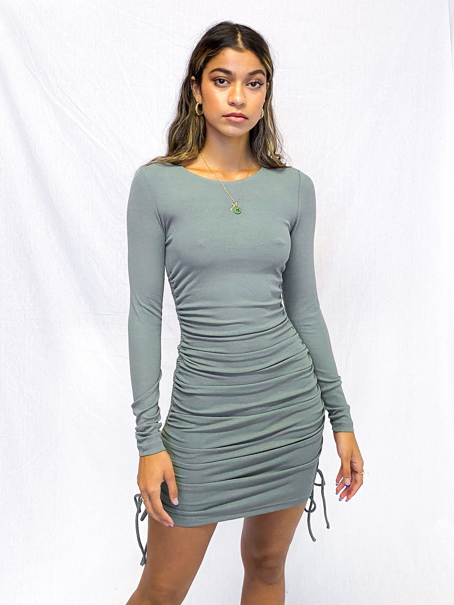 Desiree Drawstring Dress