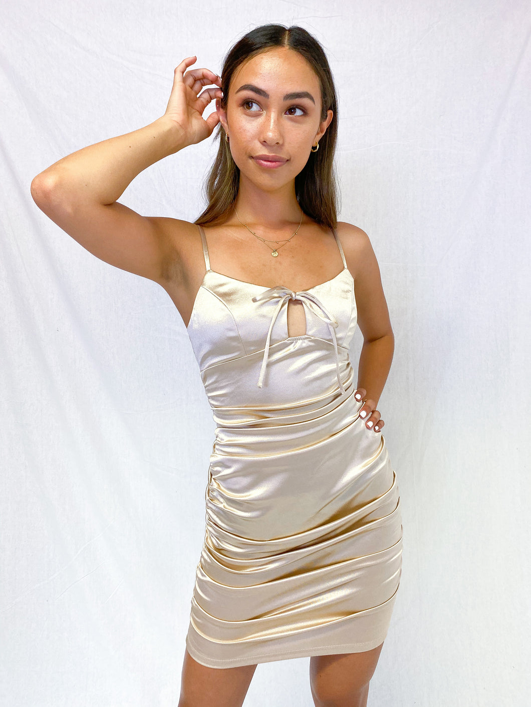 Kate Satin Dress