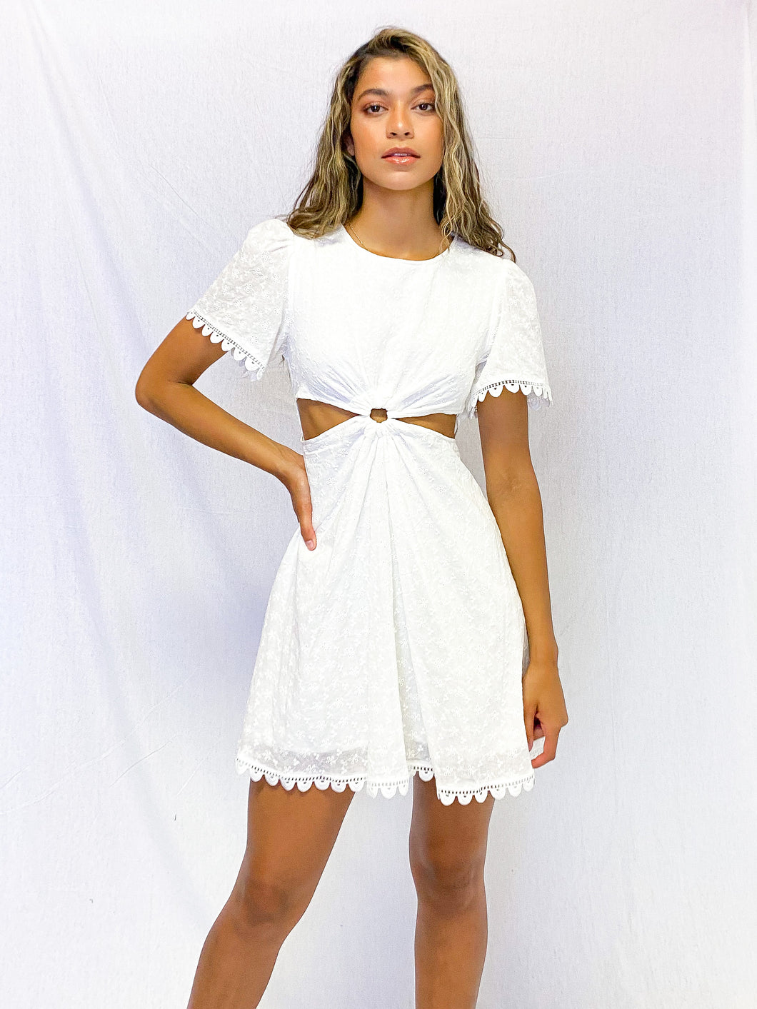 Deck the Halls Cut Out Dress
