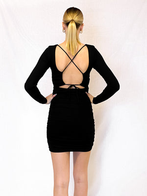 Aleshya Cross Back Dress