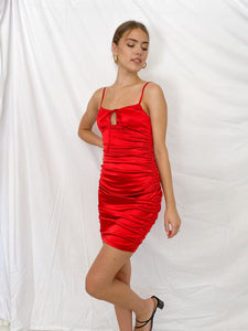 Katie Satin Dress