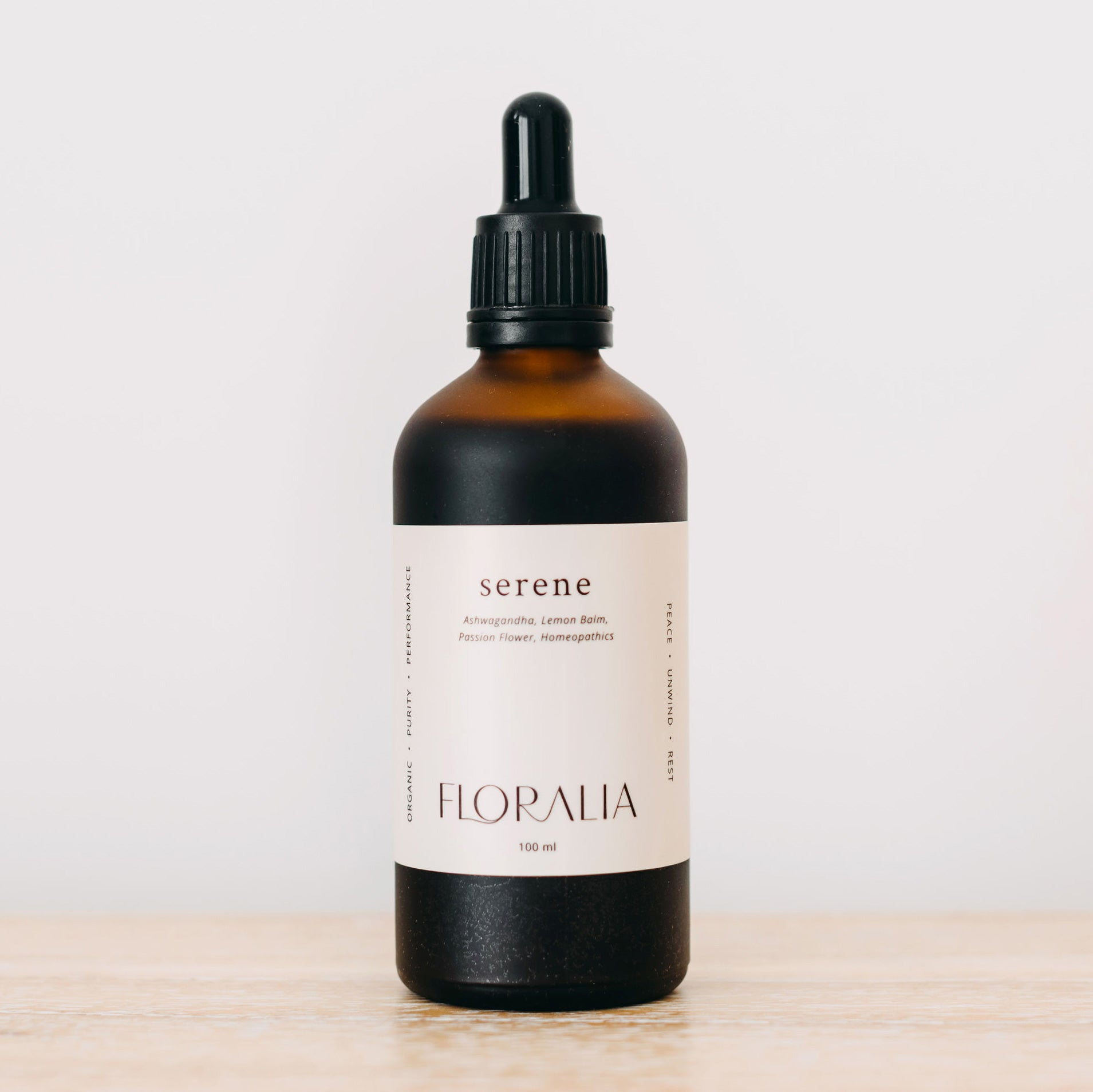 Serene Herbal Tincture Drops 100mL