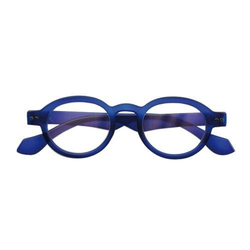 Leesbril Rond Doctor Blauw