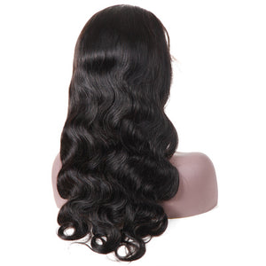 360 Lace Front Wigs Pre Plucked Remy Brazilian Body Wave - jkhairshop