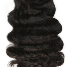 Load image into Gallery viewer, Body Wave Full Lace Human Hair Wigs For Women Natural Black Pre Plucked - jkhairshop