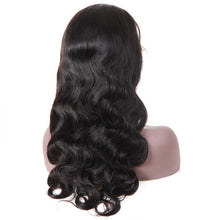 Load image into Gallery viewer, Body Wave Wig Remy Brazilian Lace Front Human Hair Wigs For Women Natural Black Color Bleached With Baby Hair JK 13*4 Deep Part - jkhairshop