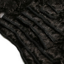 Load image into Gallery viewer, Kinky Straight Hair Clip In Human Hair Extensions - jkhairshop