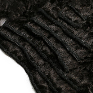 Kinky Straight Hair Clip In Human Hair Extensions - jkhairshop