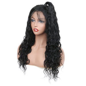 Lace Frontal Wig 13×4 Brazilian Remy Sunlight Human Hair Natural Wave Wigs Lace Front Human Hair Wigs For Black Women - jkhairshop