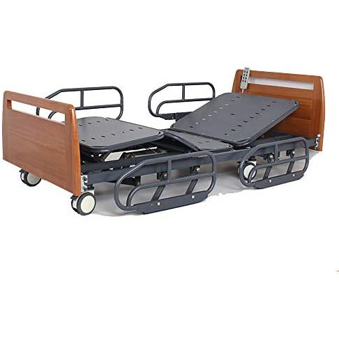 3 Functions Electric Hospital Bed-for Home Care and Medical Equipment-Adjustable Hospital Furniture Bed Home Medical Care Disabled