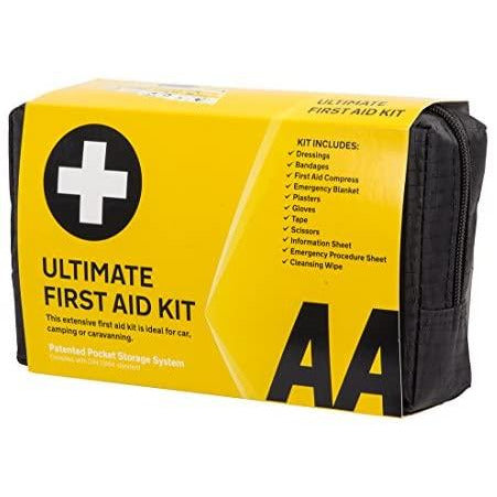 AA Roadside Essentials First Aid Kit