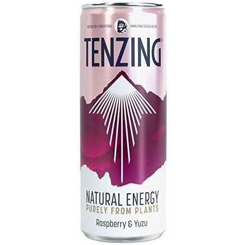 TENZING BLACKBERRY & ACAI - Natural Plant Based Energy Drink from Himalayan Recipe