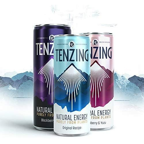 TENZING - Natural Plant Based Energy Drink from Himalayan Recipe