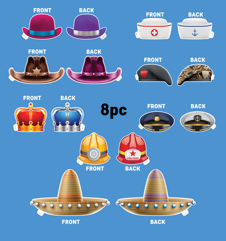 2D Hat Prop Bundle