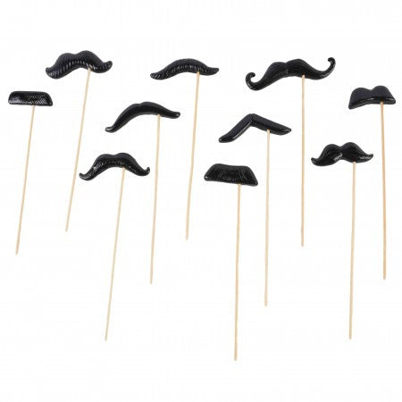Moustache Prop on a Stick Collection