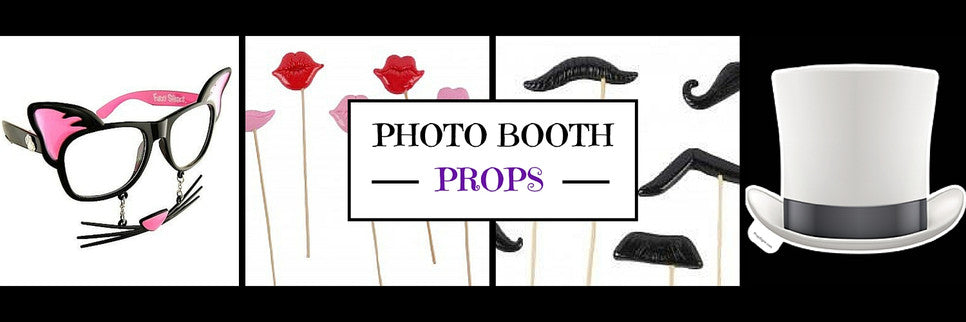 Collection of Photo Booth props