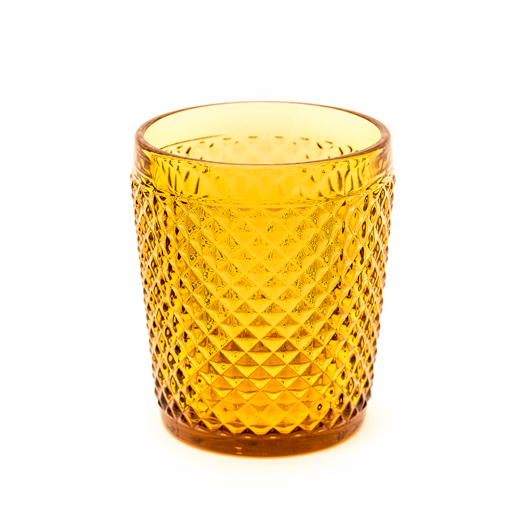 VASO DIAMANTE AMBAR