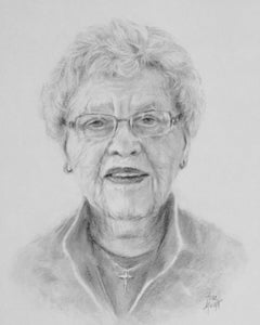 Frances - Pencil on Paper - 10 x 8