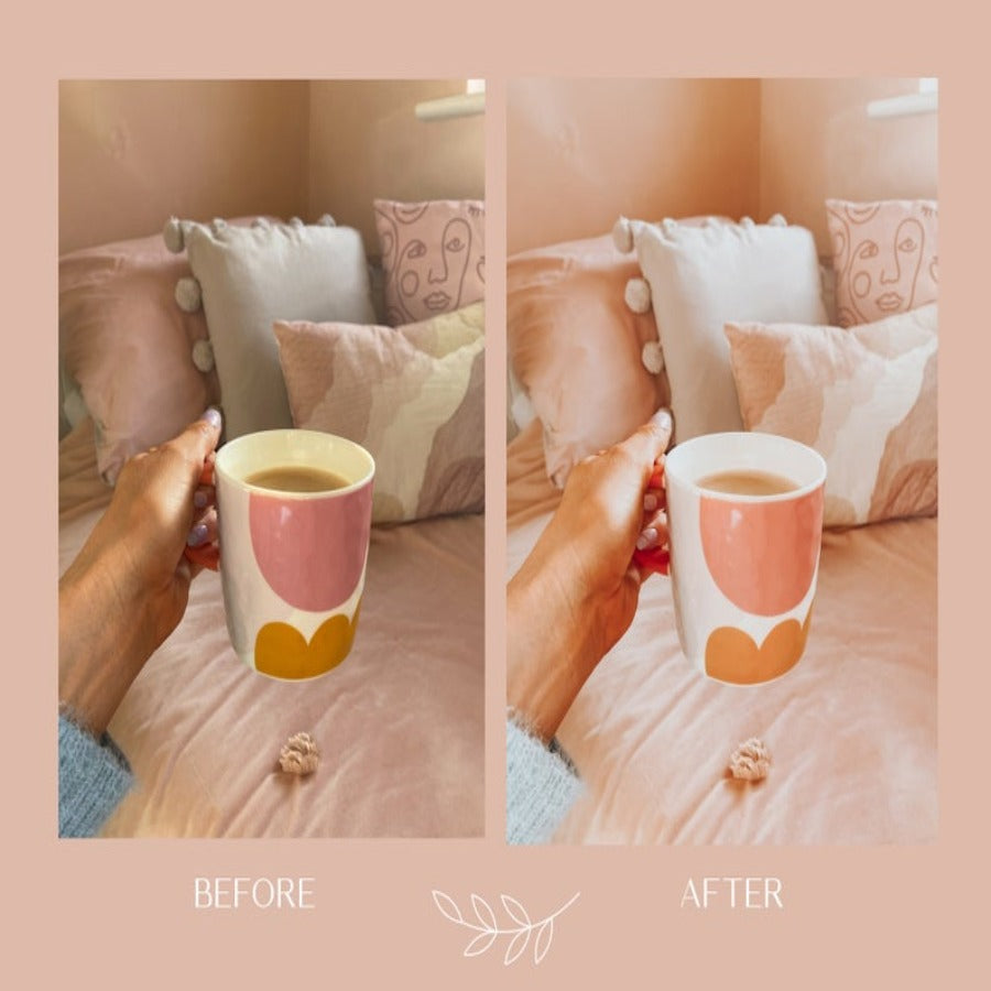 Peach Mobile Lightroom Presets