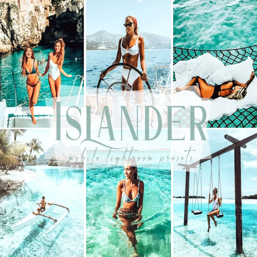 Islander Mobile Lightroom Presets