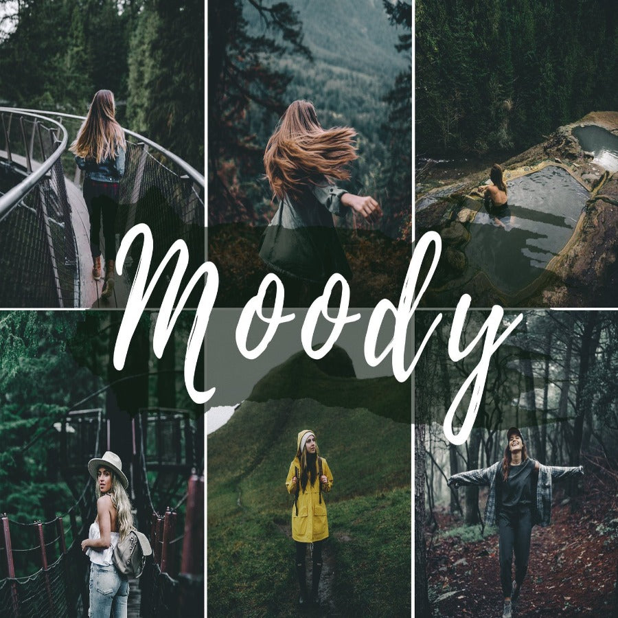Moody Mobile Lightroom Presets